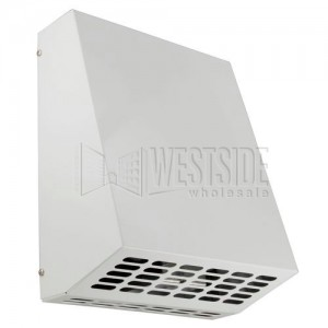 242 CFM 6 Duct RVF Series Exterior Wall Mount Exhaust Fan