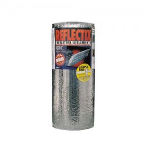 Reflectix HVST48100 R4 2/R6/R8 HVAC Indoor Double Reflective Duct  Insulation - Staple Tab, 48