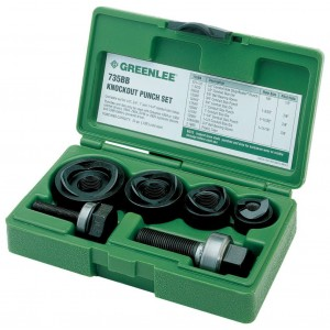 Greenlee 7235BB Knockout Punches