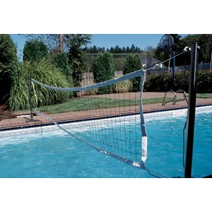 S R Smith Voly Pool Volleyball Swim N 39 Spike Volleyball Game With Anchors