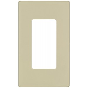 Leviton 80301 Si Electrical Wall Plate Decora Screwless