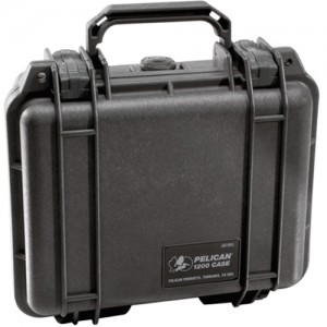 Pelican 1200NF-BLACK All Purpose Cases