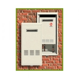 Rheem Rtg20038 Outdoor Tankless Water Heater Recess Box
