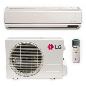 LG LS122HE Ductless Air Conditioning Single Split System