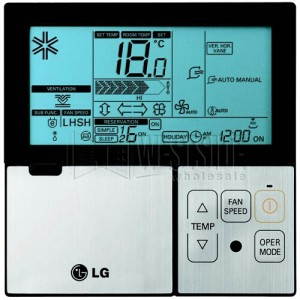 LG PQRCVSL0 Wired Thermostat for High Efficiency Ductless