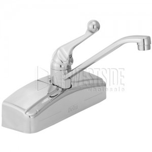 Delta Faucets 200 Delta Classic Wall Mount Single Handle Kitchen Faucet    Chrome