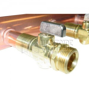 Uponor Wirsbo F2811220 PEX Valves for Heating