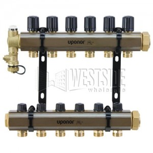 Uponor Wirsbo A2610600 PEX Manifolds for Heating