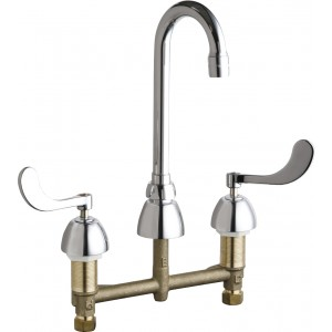 Chicago Faucets 786-GN1AE3CP Kitchen Faucets
