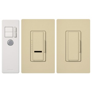 Lutron MIR-603THW-IV Wireless Dimmers