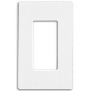 Lutron CW-1-WH Screw Less Wall Plate