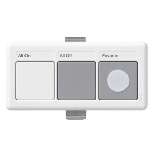 Lutron AR-WC-WH Wireless Lighting Controllers