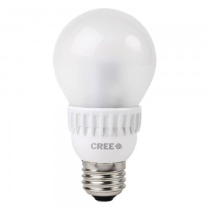 Cree Lighting A19-60W-27K-T24 A19 LED Bulb E26 9.5W (60W Equiv.) - Dimmable - 2700K - 800 Lm. - (24 Pk.)  sc 1 st  Westside Wholesale & Cree Lighting A19-60W-27K-T24 A19 LED Bulb E26 9.5W (60W Equiv ...