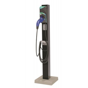 AeroVironment TurboDock Pedestal - Single Commercial EV Charging Stations