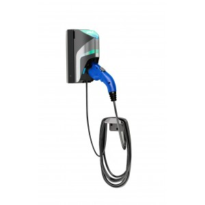 AeroVironment TurboDock Wallmount - Single Commercial EV Charging Stations