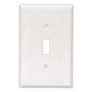 cooper wiring pj1a decora style wall plate 1 toggle switch 1 rh westsidewholesale com cooper wiring wall plate pjs26 cooper wiring screwless wall plates