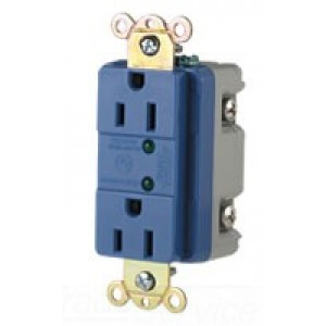 Cooper Wiring 5250WS GFCI Outlet, 15A 125V, 5-15R, 2P3W, TVSS Duplex, on daisy chain outlet wiring, power outlet wiring, wall outlet wiring, switch outlet wiring, plug outlet wiring, leviton outlet wiring, house outlet wiring, garbage disposal outlet wiring, 110v outlet wiring, proper outlet wiring, gfci safety, gfci plug wiring, 4 wire gfci wiring, safety outlet wiring, single outlet wiring, gfci switch wiring, light outlet wiring, amp meter wiring, gfci breaker, ac outlet wiring,