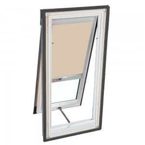 Velux dsh s06 3003 skylight blind solar powered blackout for Velux solar powered blinds