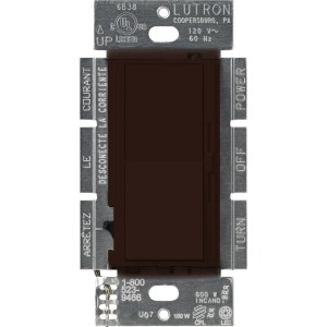 Lutron DVCL-153P-BR LED Dimmers