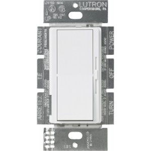Lutron DVLV-10P-WH Wall Dimmers