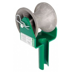Greenlee 441-2-1/2 Cable Puller Feeding Sheave for 2-1/2 Inch ...