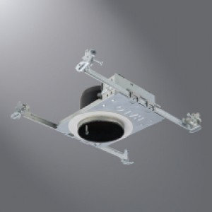 Halo H245ICAT LED Recessed Lighting Housing 4  Ultra-Shallow For Use w/ LED Integrated Trims & Halo H245ICAT LED Recessed Lighting Housing 4