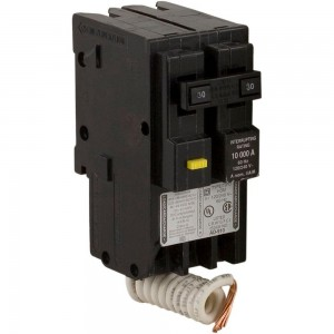 Square D HOM230GFI HomeLine 30 Amp Two-Pole GFCI Circuit Breaker