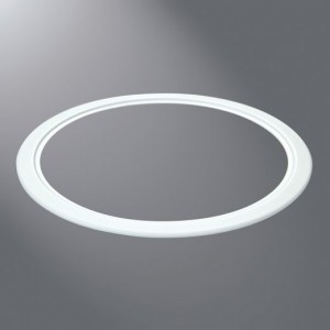 Halo TRM590WH LED Recessed Lighting 5  Oversize Trim Ring Accessory - White & Halo TRM590WH LED Recessed Lighting 5