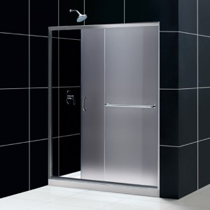 DreamLine DL-6973L-04FR Shower Door and Base Sets