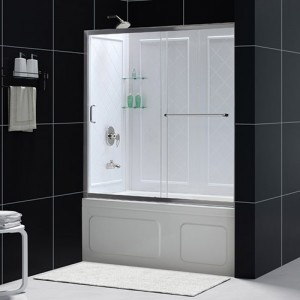 DreamLine DL-6992-01CL Tub Shower Combo Kits