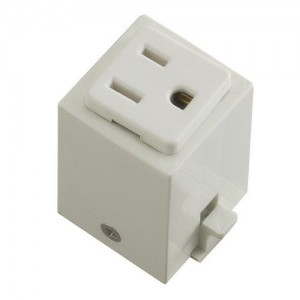 Halo l966p power trac outlet adapter white aloadofball Image collections