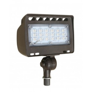 Westgate mfg lf4 30cw kn architectural series led outdoor light westgate mfg lf4 30cw kn architectural series led outdoor light 30w 120277v 5000k flood light with 12 knuckle bronze workwithnaturefo