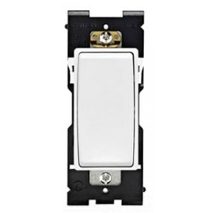 leviton re154 ww wall dimmer 15a 120 277v 4 way white on white. Black Bedroom Furniture Sets. Home Design Ideas