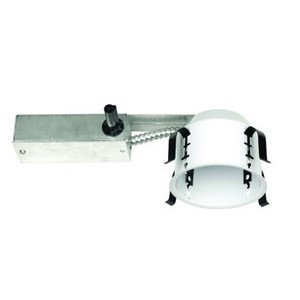 Liton lsh1499r recessed light can 4 shallow remodel housing black aloadofball Image collections