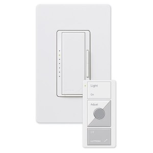 Lutron MRF2-600MTHW-WH Wireless Dimmers