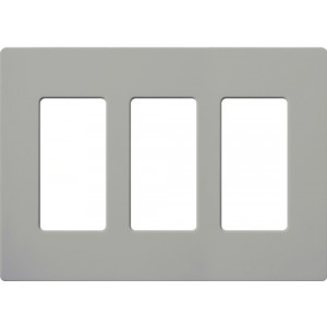 Lutron CW-3-GR Decora Wall Plates