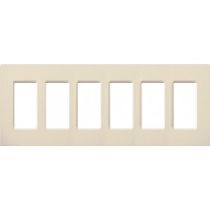 Lutron Cw 6 La Electrical Wall Plate Claro Decorator