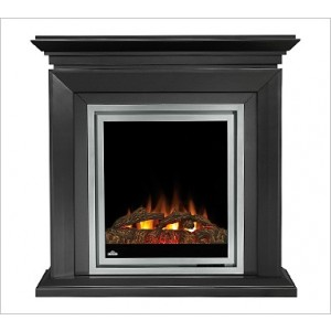 Napoleon Efmd30k Fireplace Electric Vent Free 5 000 Btu W Beveled Edge Deluxe Mantel Logs