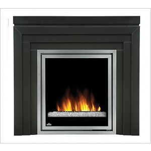 Napoleon Efmm30gk Fireplace Electric Vent Free 5 000 Btu W Metro Mantel Clear Embers Remote