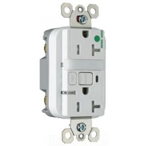Pass Seymour 2095hgntltrw Gfci Outlet Combination Duplex