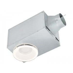 Delta Breez Rec80led Recessedseries Bathroom Fan 4 Quot Duct