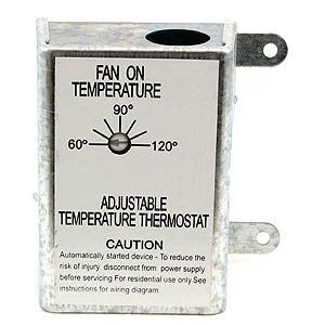 Nutone Rfth95 Attic Ventilator Replacement Thermostat Automatic