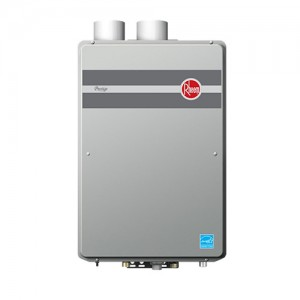 rheem rtgh84dvln tankless water heater natural gas btu max high efficiency condensing direct vent indoor 84 gpm