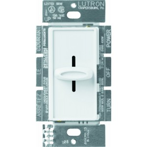 Lutron S-1000-WH Wall Dimmers