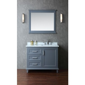 Ariel Bath SCNAN42SWG by SeaCliff Designs Bathroom Vanity, 42\