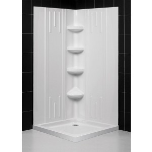DreamLine SHBW-1241720-01 Shower Base & Back Wall Sets