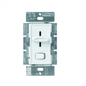 Lutron SLV-603P-WH Wall Dimmers