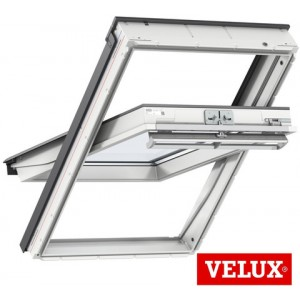 velux ggu fk06 0060r skylight 26 1 2 x 46 7 8 air venting center pivot roof window w safety. Black Bedroom Furniture Sets. Home Design Ideas