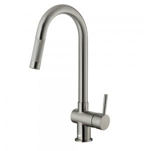 VIGO Industries VG02008ST Kitchen Faucet, Pull-Out - Stainless Steel