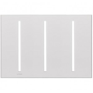 Lutron VTW-3-WH Specialty Wall Plates